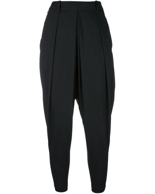 Masnada | Чёрный Pleat Detail Harem Trousers