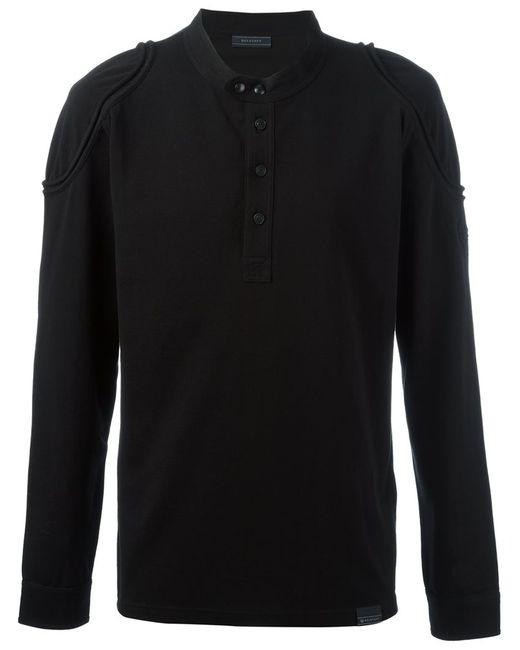 Belstaff | Мужская Чёрная Рубашка-Поло Shoreham