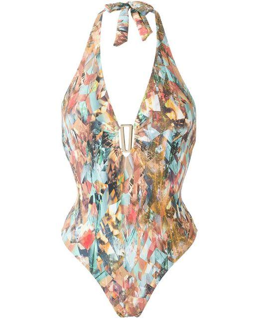 Lygia & Nanny | Женское Многоцветный Printed Swimsuit