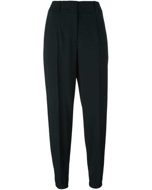 Jil Sander | Чёрный Cuffed Trousers