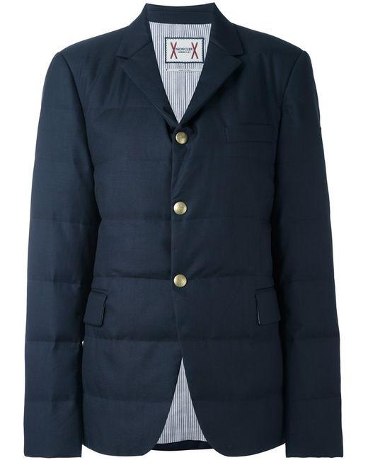 Moncler Gamme Bleu | Женское Синий Padded Blazer Jacket