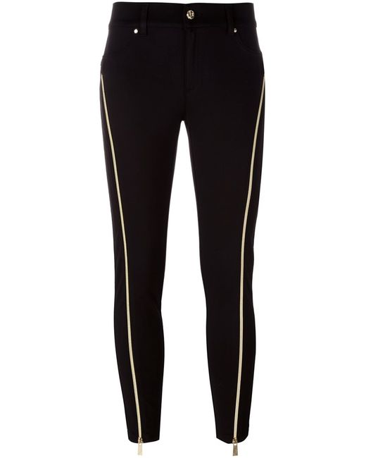 Versace Jeans | Чёрный Zip Detail Skinny Trousers