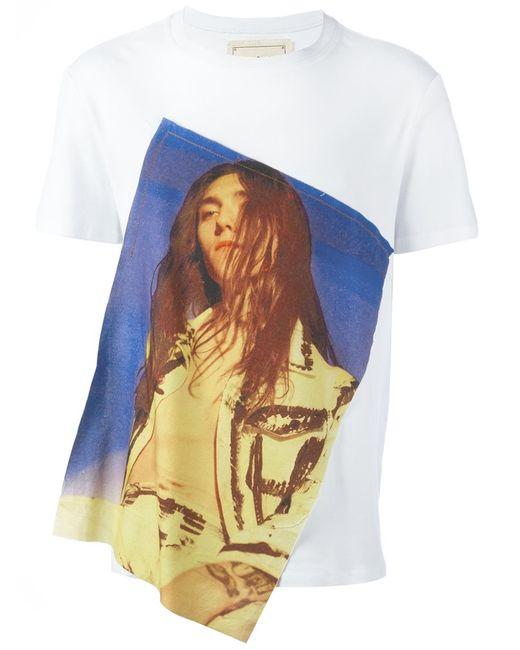 Alex Mullins | Мужское Белый Jake T-Shirt