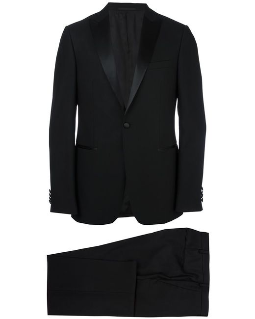 Z Zegna   Мужское Чёрный Tailored Dinner Suit