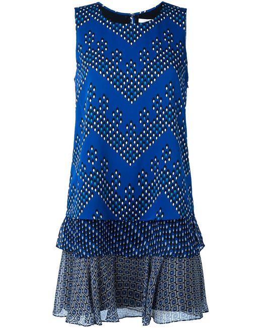Diane Von Furstenberg | Женское Синее Платье Liza