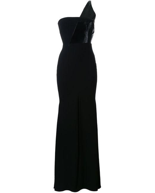 ALEX PERRY | Женское Чёрное Вечернее Платье Felicette