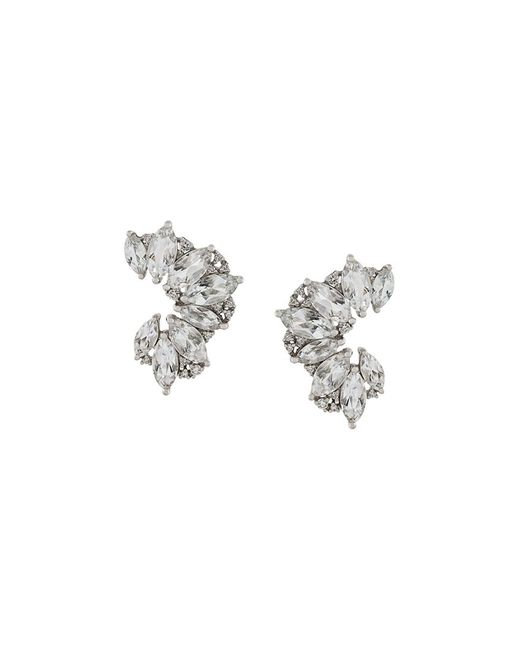 ELISE DRAY | Серебристый Topaz Diamond Earrings