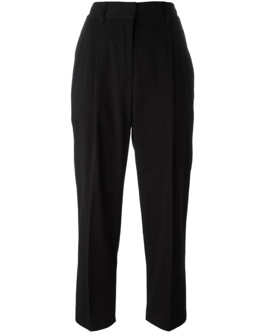 3.1 Phillip Lim | Чёрный Cropped Trousers