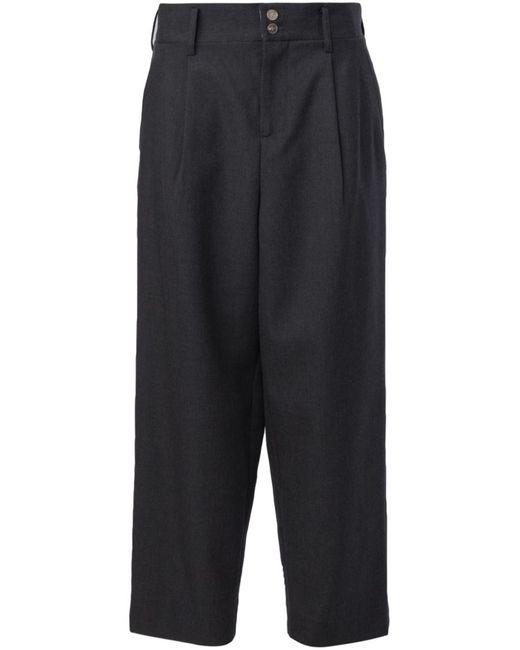 DIGAWEL | Серый Cropped Wide-Leg Trousers