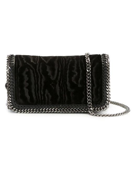 Stella Mccartney   Чёрный Falabella Crossbody Bag