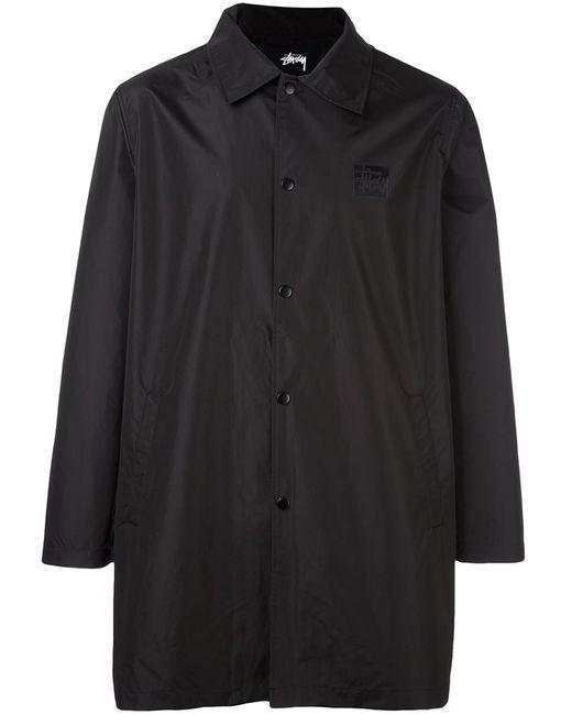 Stussy   Мужское Чёрный Long Coach Jacket