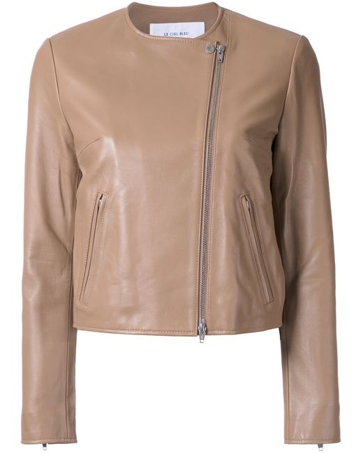 LE CIEL BLEU | Женская Коричневая Куртка Minimal Riders