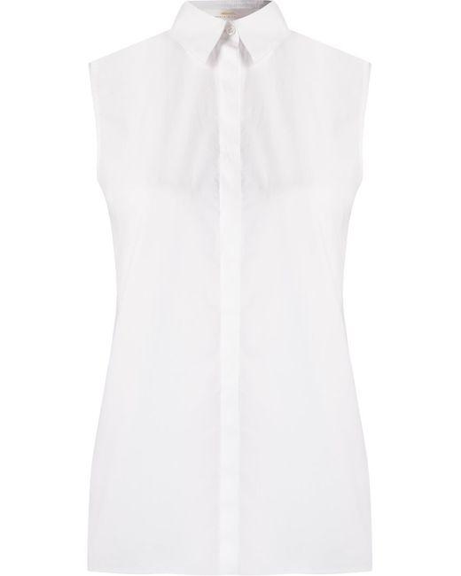 ANDREA MARQUES   Женское Белый Sleeveless Shirt