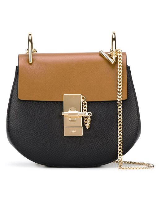 Chloe | Синий Chloé Drew Shoulder Bag