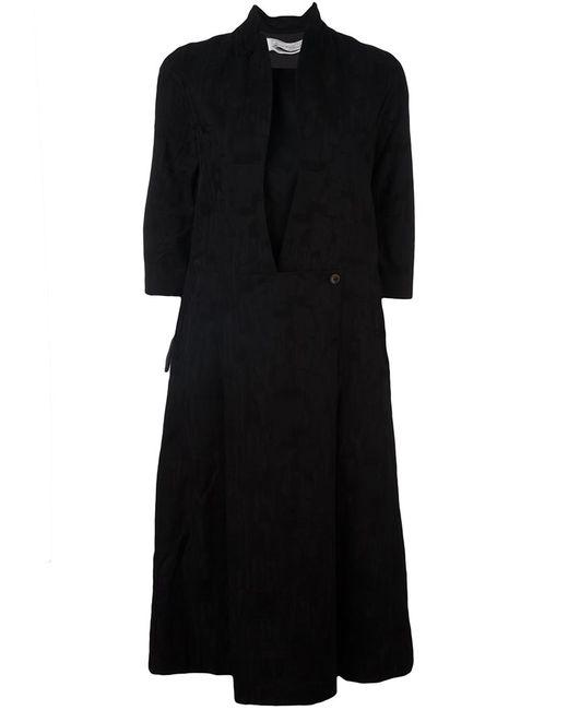 INDIVIDUAL SENTIMENTS | Женское Чёрный Three-Quarter Sleeve Shirt Dress