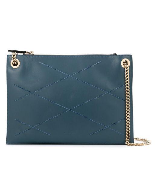 Lanvin | Синий Sugar Zipped Shoulder Bag