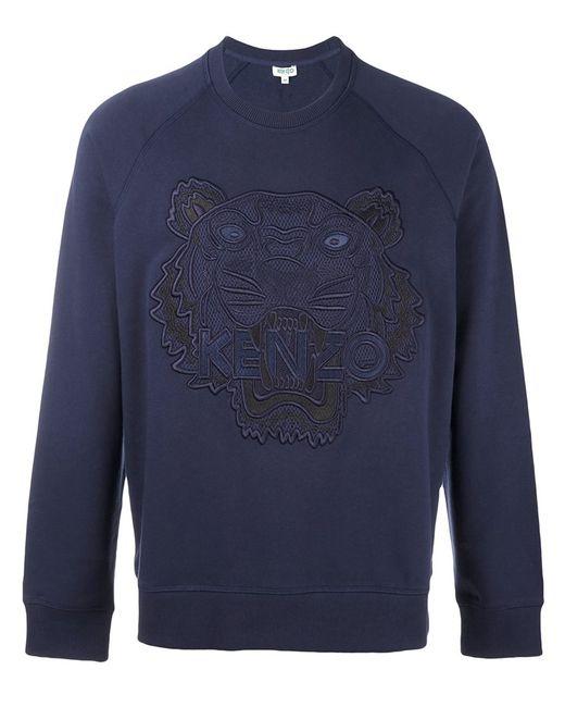 Kenzo | Мужское Синий Tiger Sweatshirt