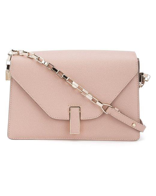 Valextra   Розовый Chain Strap Shoulder Bag