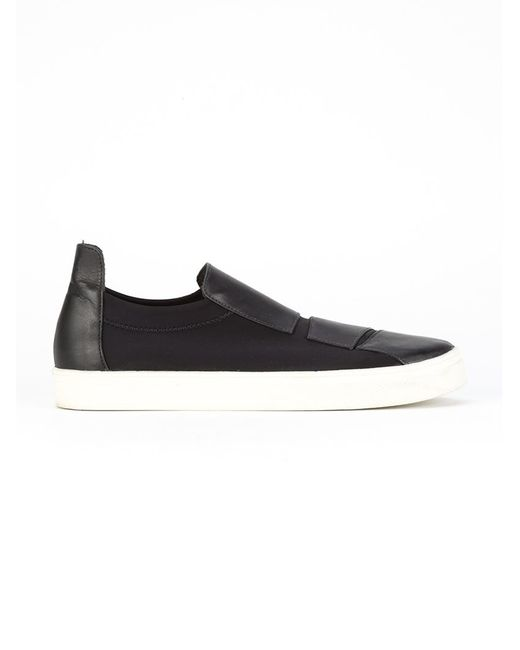GLORIA COELHO | Чёрный Leather Sneakers
