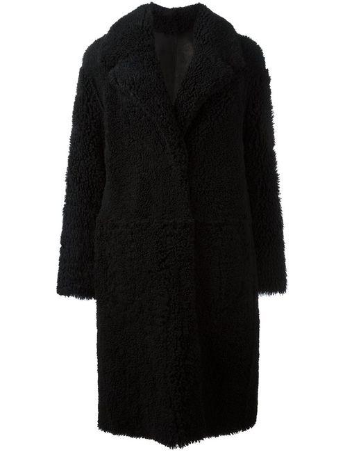 Drome | Женское Чёрный Oversized Fur Coat