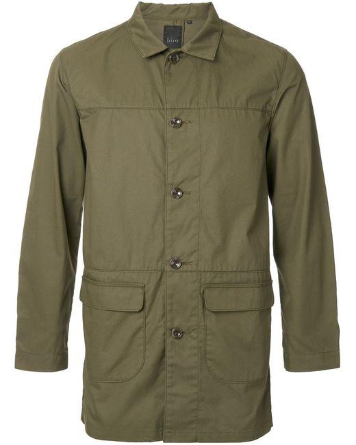 Biro   Мужское Зелёный Supreme Coat