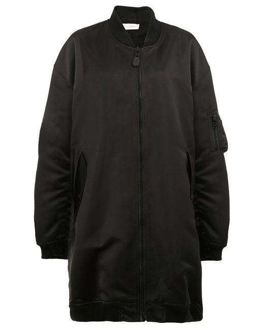 Faith Connexion | Женское Чёрный Zipped Bomber Coat