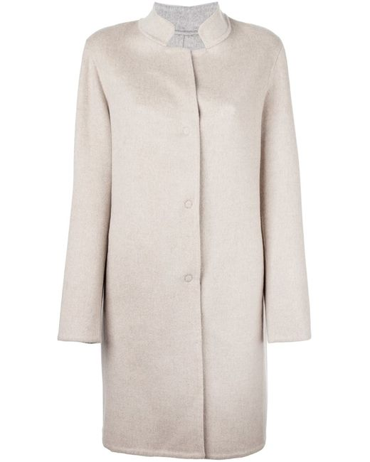 Liska | Женское Nude & Neutrals Cashmere Single Breasted Coat
