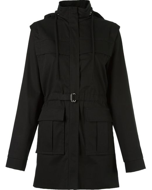 GLORIA COELHO | Женское Серый Removable Hood And Sleeves Coat