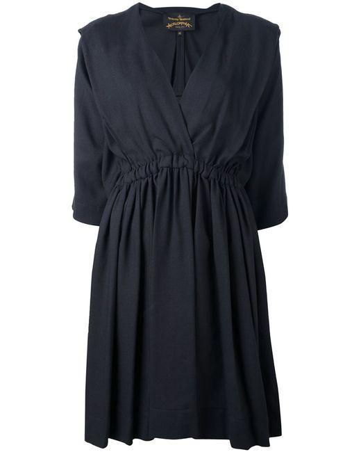 Vivienne Westwood Anglomania   Женское Серый V-Neck Dress