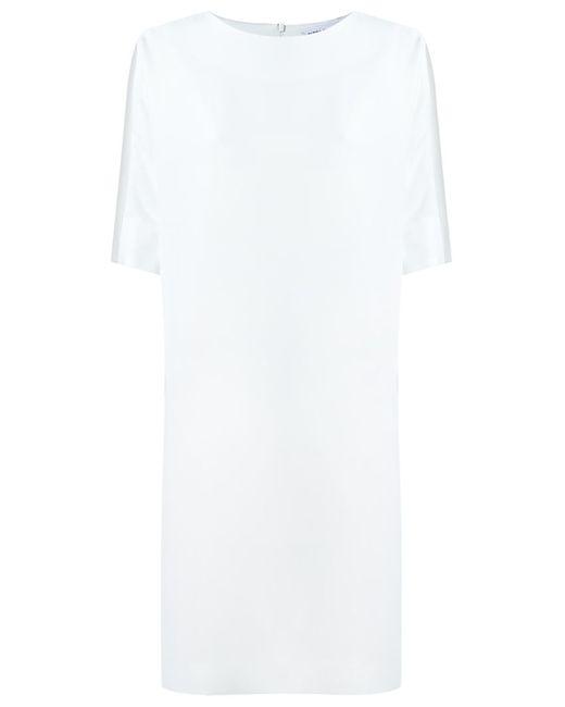 GLORIA COELHO | Женское Белый Side Pockets Dress