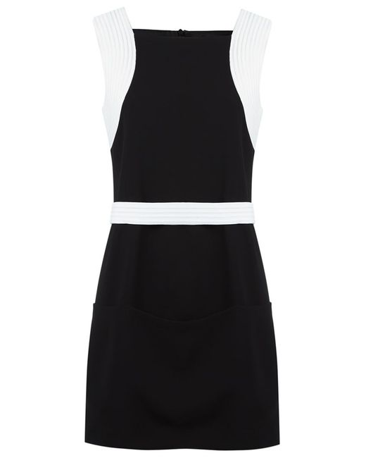 GLORIA COELHO   Женское Чёрный Side Pockets Dress