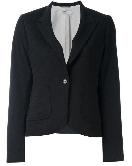 Hope | Женское Чёрный Patch Pockets Blazer