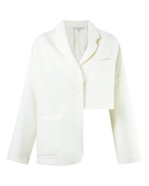 GLORIA COELHO | Женское Белый Oversized Blazer