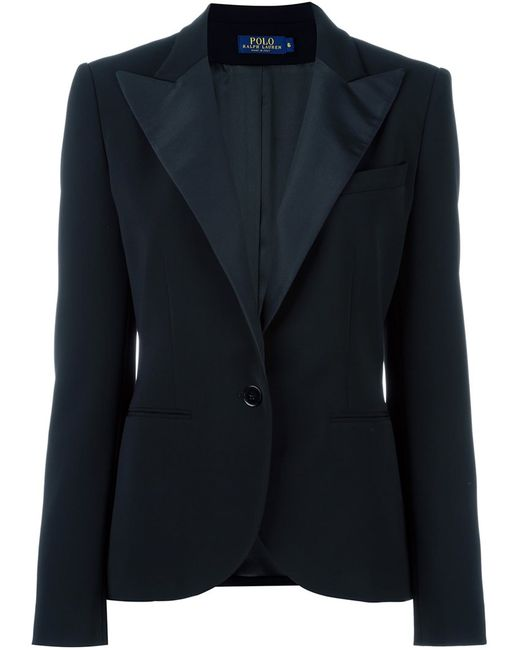 Polo Ralph Lauren | Женское Чёрный Single Button Dinner Jacket