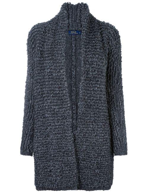 Polo Ralph Lauren | Женское Серый Ribbed Slouchy Cardi-Coat