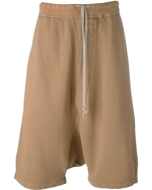 RICK OWENS DRKSHDW | Мужское Nude & Neutrals Casual Drop-Crotch Shorts