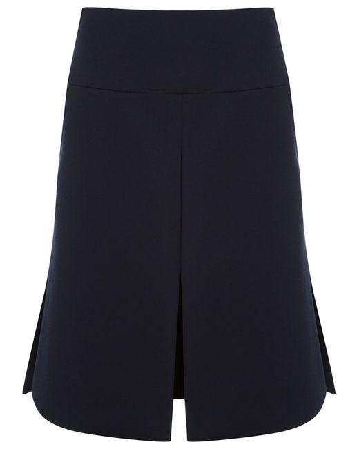 GLORIA COELHO | Женское Синий High Waisted Skirt