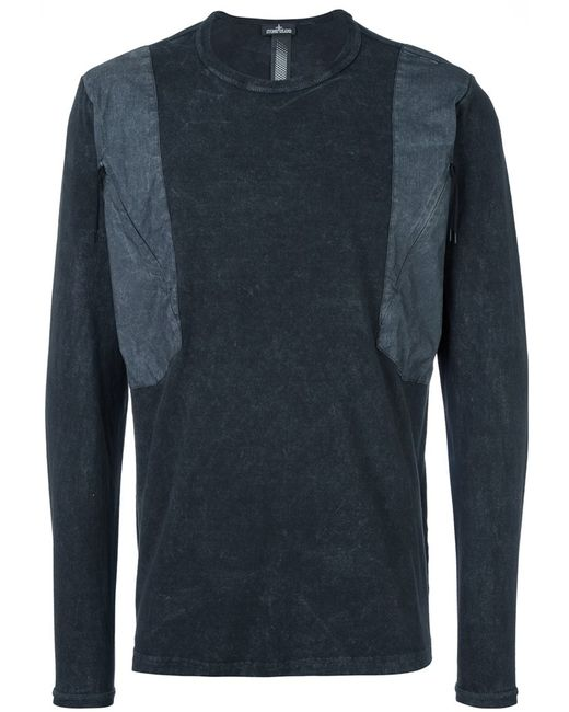 STONE ISLAND SHADOW PROJECT   Мужское Серый Shoulders Detailed Pullover
