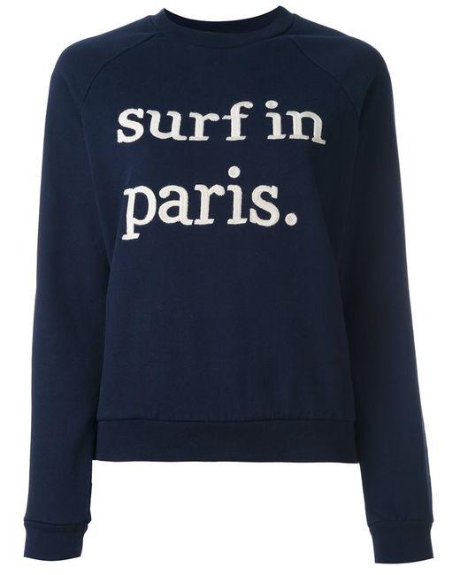 CUISSE DE GRENOUILLE | Женское Синий Surf In Paris Sweatshirt
