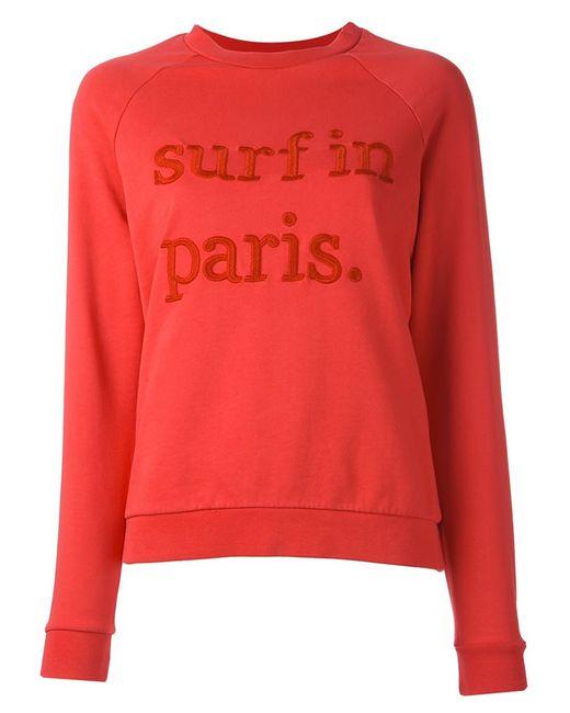 CUISSE DE GRENOUILLE | Женское Розовый Surf In Paris Sweatshirt