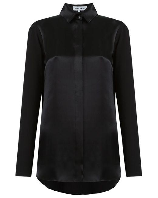 GLORIA COELHO | Женское Чёрный Panel Shirt