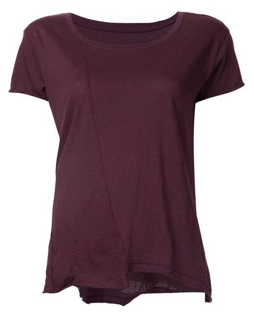 RTA   Женское Красный Johnny Raw Cut T-Shirt