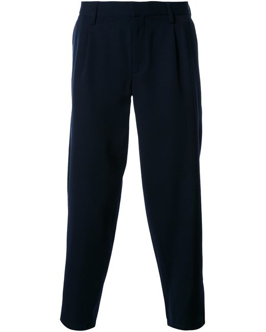 Kolor | Синий Tapered Cropped Trousers