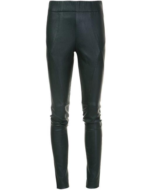 Zero + Maria Cornejo   Чёрный Stitch Detailing Leggings