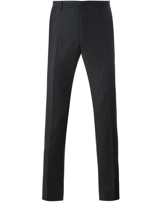 Lanvin   Серый Tailored Slim Fit Trousers