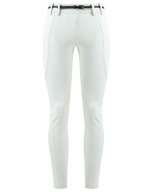 GLORIA COELHO | Белый Panelled Skinny Trousers