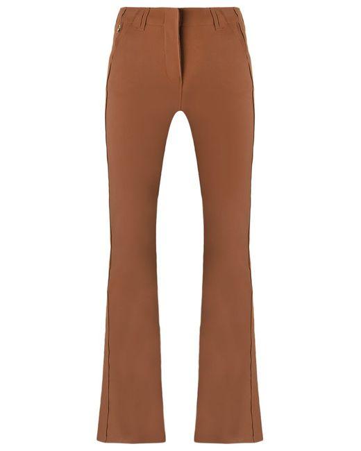 GLORIA COELHO | Коричневый Flared Trousers