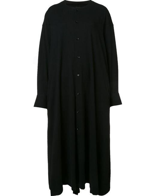 Yohji Yamamoto   Женское Чёрный Open Cuff Dress