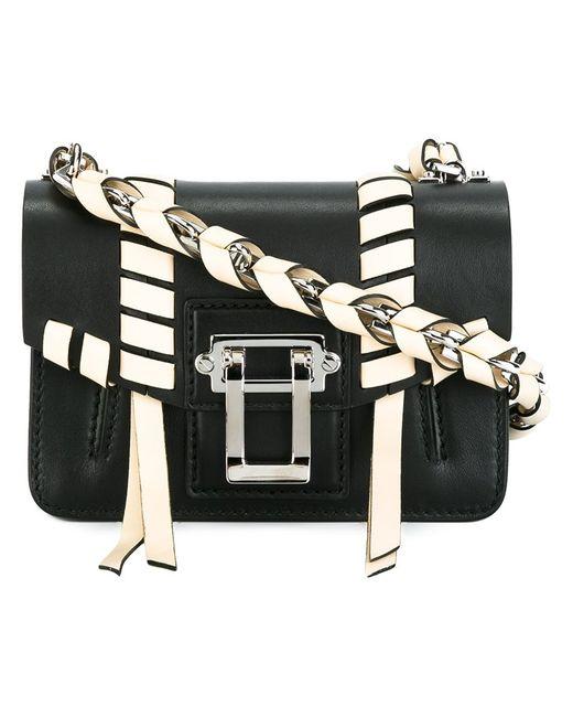 Proenza Schouler   Чёрный Hava Whipstitch Crossbody Bag
