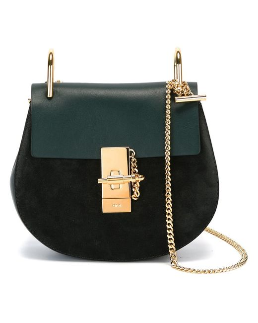Chloe | Зелёный Chloé Drew Shoulder Bag